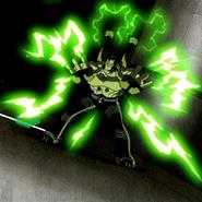 Benvicktor lanzando rayos por doquier