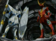 Wolfurio y Titanium Dragonoid