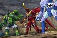 Jaakor con Drago y Radizen