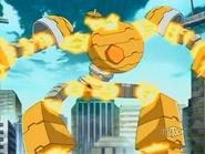 Boulderon usando Magneto Portal