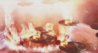 Time War saucers