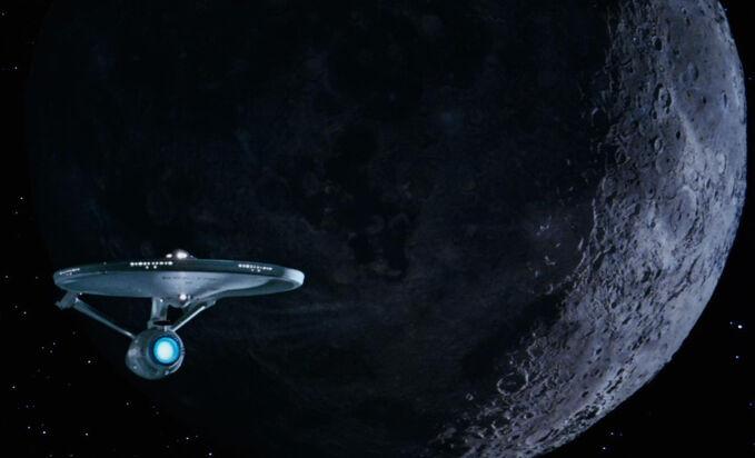 Enterprise sets course for the mutara nebula
