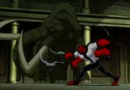 Cuatrobrazos vs Mamut Mutante