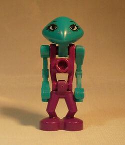 LEGO life on mars Cassiopea minifigure