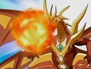 Cross Dragonoid usando Disparo Dragon