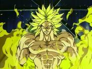 Bio Broly antes de transformarse en un horrible Mutante.