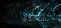 The Thing- Pilot Ship Interior
