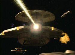 Cardassian Galor class ship