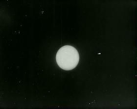 Meba flying away from Venus.
