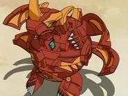 Cross Dragonoid en modo de esfera