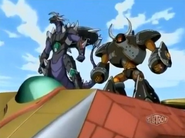 Infinity Helios con Rex Vulcan