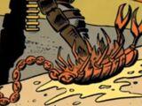 Unidentified scorpion-like creature