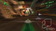 Ben en Vulpin en Galactic Racing