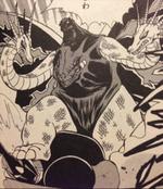 King Godzilla tries to destroy Machine-G