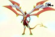 Titanium Dragonoid resien evolucionado
