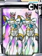 Dos Aranaut escaneandos por el bakumetro