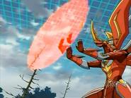 Titanium Dragonoid usando Pantalla Titanium