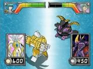 Elico Haos vs Percival escaneado por el Lanzador