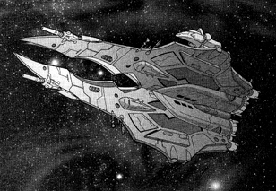 Emancipation-Class Dreadnought (Rifts Dimension Book, Fleets of the Three Galaxies)