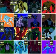 Todos los nuevos aliens de Ben 10 Supremacia Alienigena