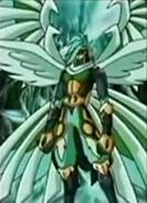Maestro Ingram es un forma Ninjitsu escaneado por el lanzador