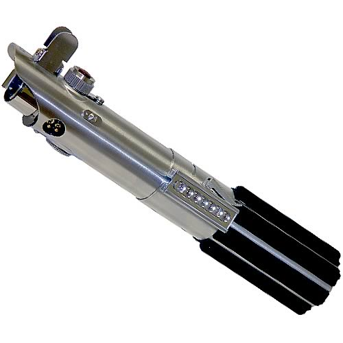 By The Beginning Of The Clone Wars, Anakin Needed A New Weapon And  Therefore Constructed A Second Lightsaber Based On His Previous Arm To  Accommodate His ...