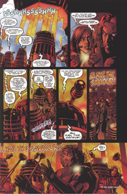 The Humanised Daleks recognise the Doctor