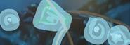 El Centro De Comando Tangler escapando del calamar gigante vandal