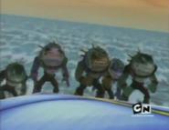 Todo el Aqua-Shark junto a ecepcion de Sever