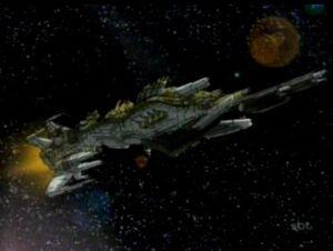Glorft starship