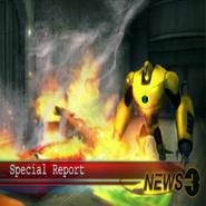 Armadillo en la noticias en Destrucción Cósmica