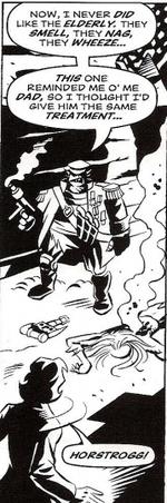 Horstrogg kills Tobal.