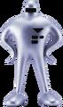 Starman Clay Model