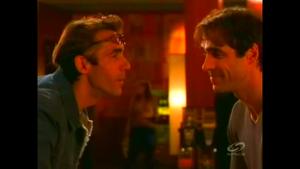 Troy and Cole meet each other.