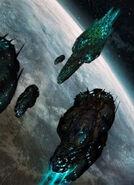 Migou Warships (Cthulhutech)