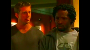 Nestov and Cole (disguised as Rod Archer).