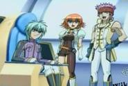 Ace, Mira y Baron en una foto
