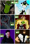 5 aliens de Ben 10 y Ben 10.000 (Alternativo)