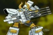 Boriates usando el poder de fusion Mega Cañon Potente