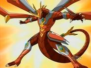 Pose de Titanium Dragonoid
