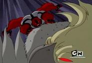 Cuatrobrazos vs Cacatua Mutante