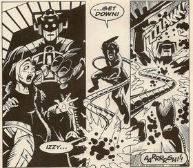 The Doctor attacks Kroton.