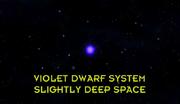 Violet Dwarf Star