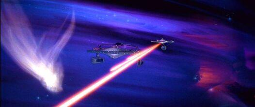 USS Enterprise misses the Reliant