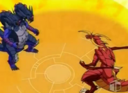 Doble Hydranoid vs Delta Dragonoid3