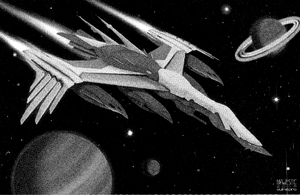 Taskmaster-Class Carrier (Rifts Dimension Book, Fleets of the Three Galaxies)