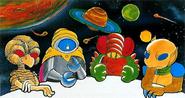 Metroid Galactic Federation Founding