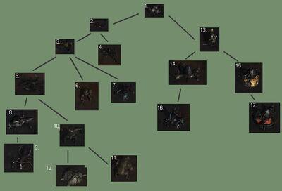 Morphid chart