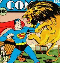 SupermanFightingLion