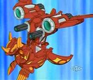 Helix Dragonoid forma esfera con el armamento